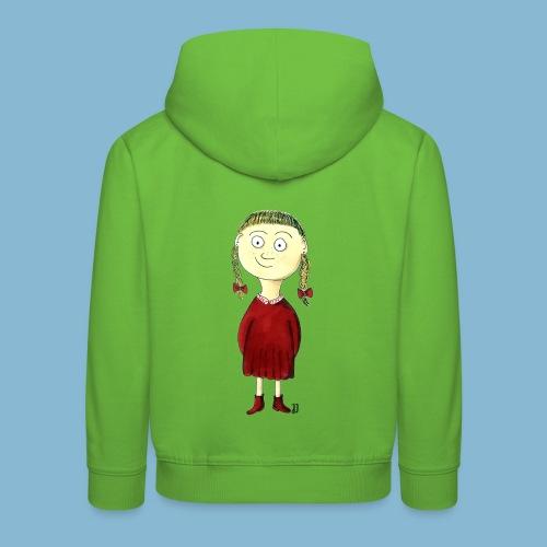 Martha mit den Zöpfen - Kinder Premium Hoodie