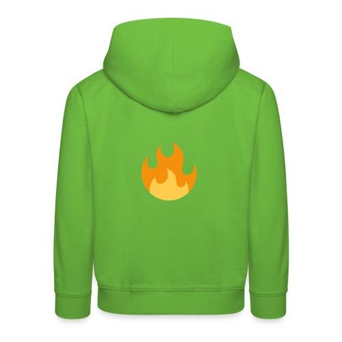 La flamme ! - Pull à capuche Premium Enfant