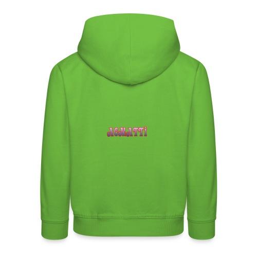 ACMATTI farverig - Premium hættetrøje til børn