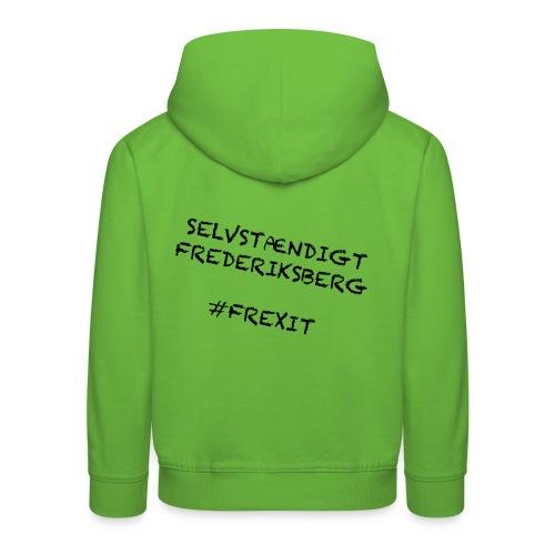 Selvstændigt Frederiksberg #FREXIT - Premium hættetrøje til børn