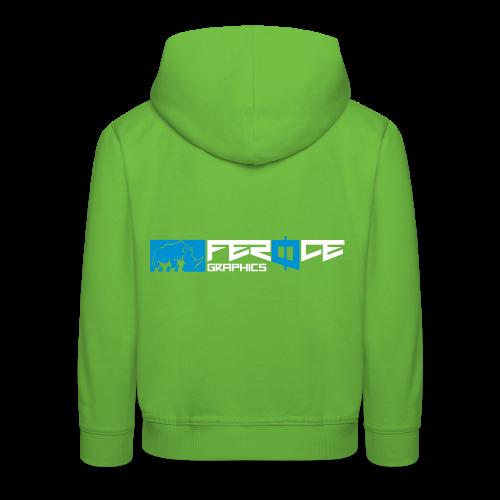 logo_feroce - Pull à capuche Premium Enfant