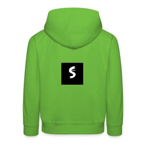SPETV We̱i̱ß - Kinder Premium Hoodie