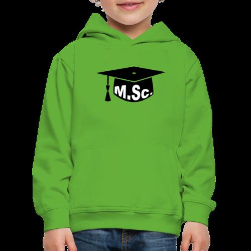 Doktorhut Master of Science M.Sc Doktorarbeit - Kinder Premium Hoodie