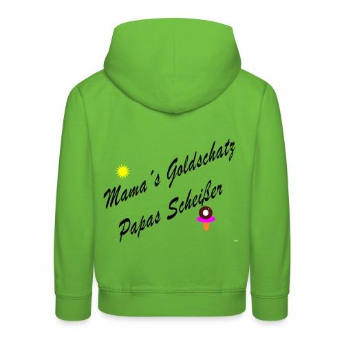 mamas goldschatz - Kinder Premium Hoodie