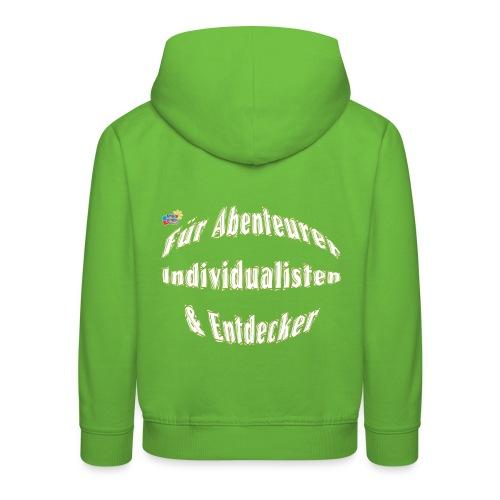 Abenteuerer Individualisten & Entdecker - Kinder Premium Hoodie
