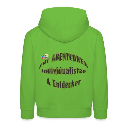 Abenteurer Individualisten & Entdecker - Kinder Premium Hoodie