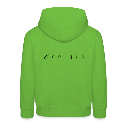 coolguy Collection - Premium Barne-hettegenser