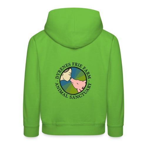 Dyrenes Frie Farm Logo - Premium hættetrøje til børn
