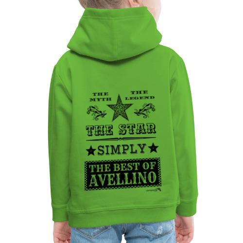 1,03 The Star Legend Avellino - Felpa con cappuccio Premium per bambini