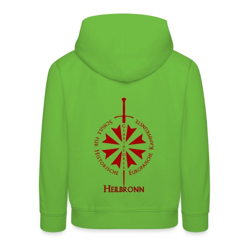 T shirt front Hn - Kinder Premium Hoodie