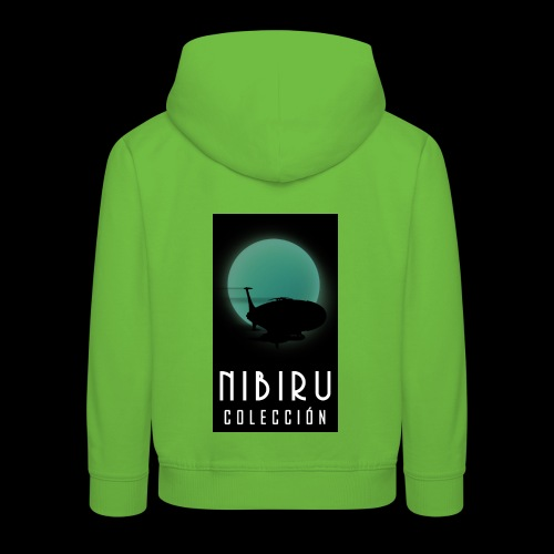 colección Nibiru - Sudadera con capucha premium niño