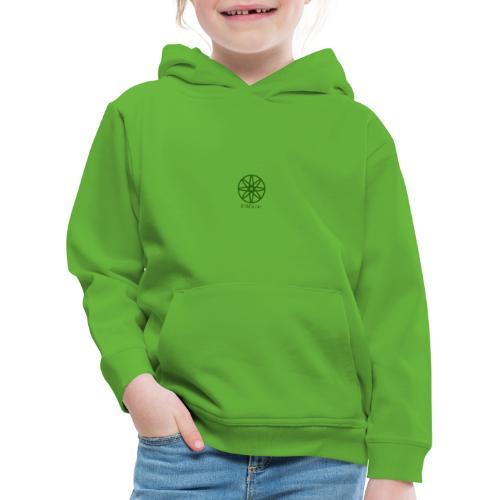 La boule d'atôme en vert - Kinder Premium Hoodie
