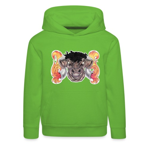 Taurus The Bull God - Kids' Premium Hoodie