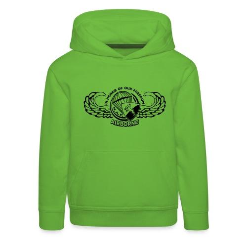 HAF tshirt back2015 - Kids' Premium Hoodie