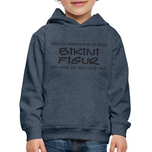 Bikinifigur01 - Kinder Premium Hoodie
