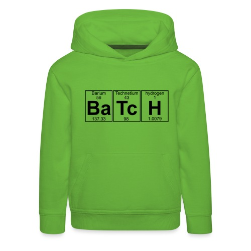 Ba-Tc-H (batch) - Full - Kids' Premium Hoodie
