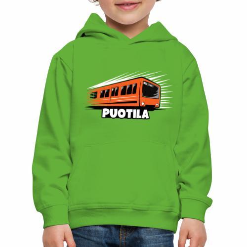 HELSINKI PUOTILA METRO T-Shirts, Hoodies, Gifts - Lasten premium huppari