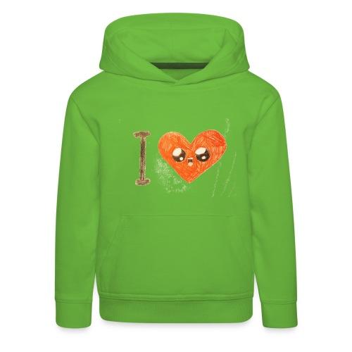 Kids for Kids: heart - Kinder Premium Hoodie