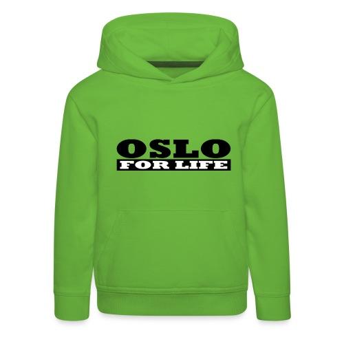 Oslo fürs Leben - Kinder Premium Hoodie