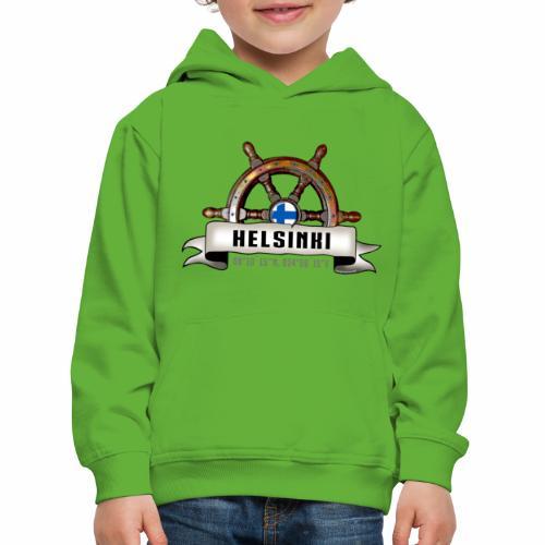 Helsinki Ruori - Merelliset tekstiilit ja lahjat - Lasten premium huppari