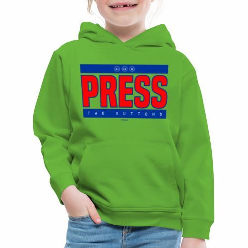 Press the buttons - Kinderen trui Premium met capuchon