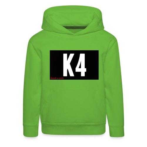 K4 KRISP 4EVER MERCHANDISE - Kids' Premium Hoodie