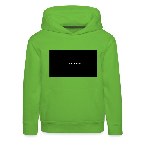 Itz Sxth - Kids' Premium Hoodie