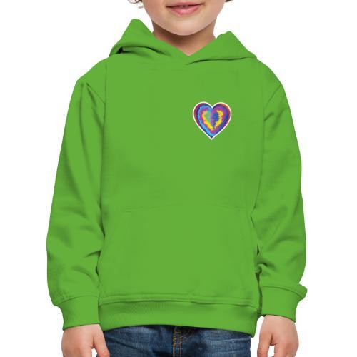 Colorful Heart - Kids' Premium Hoodie