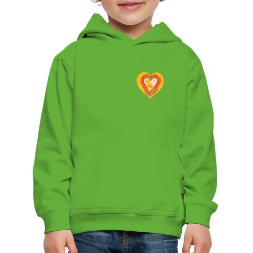 Heartface - Kids' Premium Hoodie