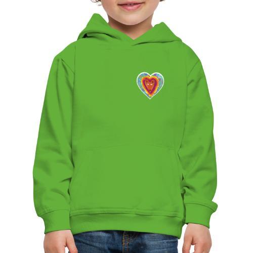 Foxy Heart - Kids' Premium Hoodie
