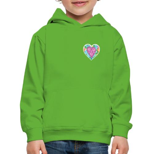 Heart Bubbles make you float - Kids' Premium Hoodie