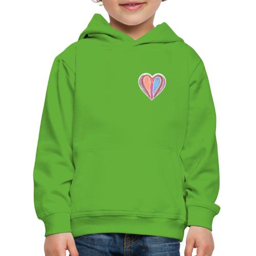 Hearts dont split, they get wings - Kids' Premium Hoodie