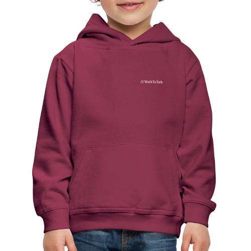 WalkToTalk - Inspirierende Gehspräche im Grünen - Kinder Premium Hoodie