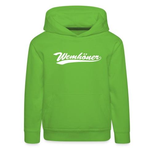 wemhoner - Kids' Premium Hoodie