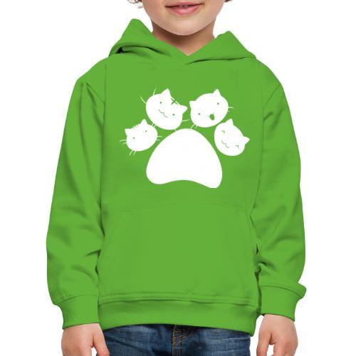 4Chatons Logo - Pull à capuche Premium Enfant