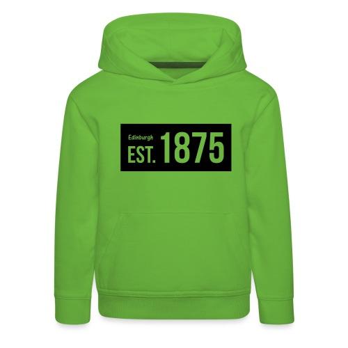 EST. 1875 Hibs - Kids' Premium Hoodie