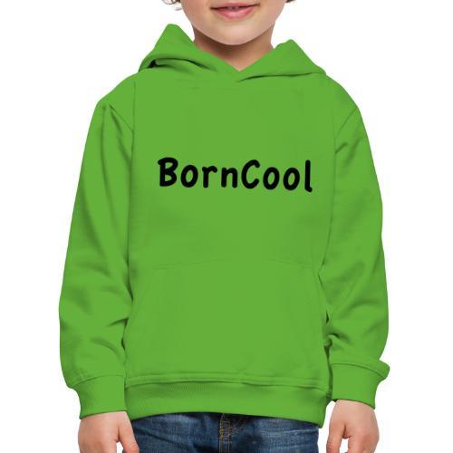 BornCool, svart - Premium-Luvtröja barn