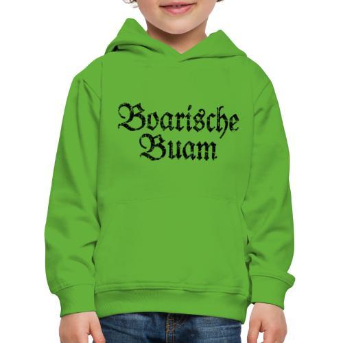 Boarische Buam Männer aus Bayern (Vintage Schwarz) - Kinder Premium Hoodie