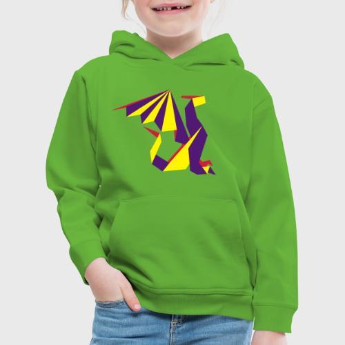 Dragon Origami - Pull à capuche Premium Enfant