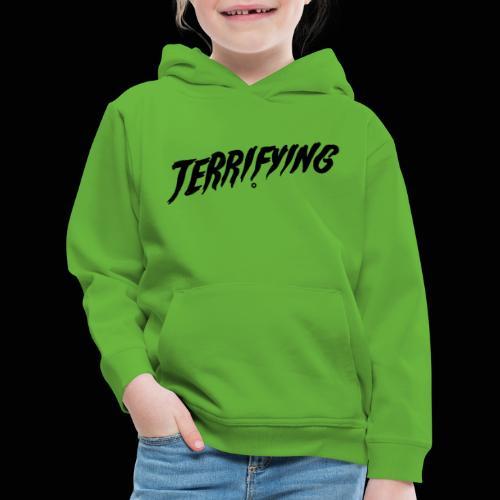 Terrifying, la peur graphique ! - Pull à capuche Premium Enfant