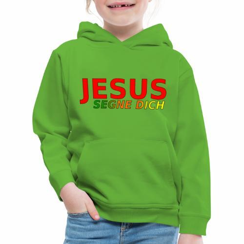 JESUS segne dich - bunt - Kinder Premium Hoodie