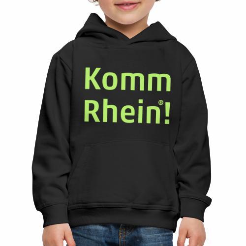 Komm Rhein - Kinder Premium Hoodie