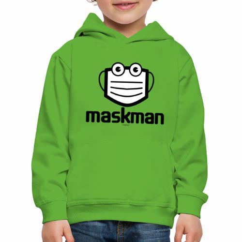Maskman - Kinderen trui Premium met capuchon