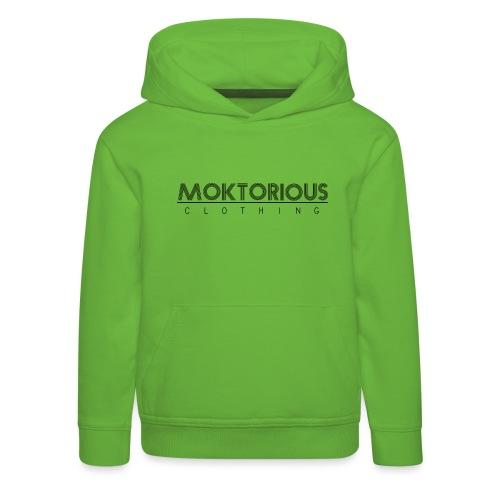 MOKTORIOUS CLOTHING - BLACK - VERTICAL - Kinder Premium Hoodie