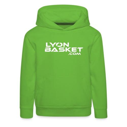 lyonbasketspread - Pull à capuche Premium Enfant