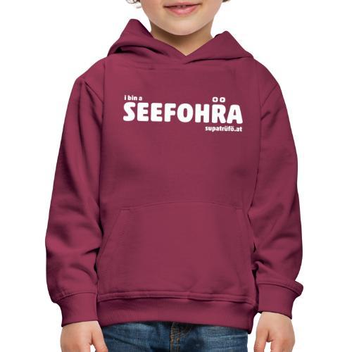 supatrüfö SEEFOHRA - Kinder Premium Hoodie