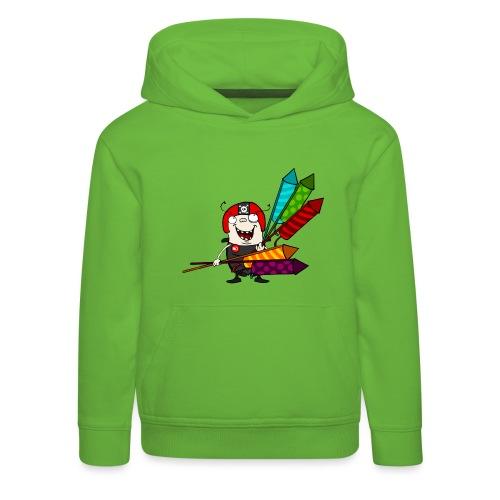 Kinder T-Shirt - Feuerwerk - Kinder Premium Hoodie
