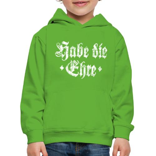 Habe die Ehre (Vintage Weiß) - Kinder Premium Hoodie