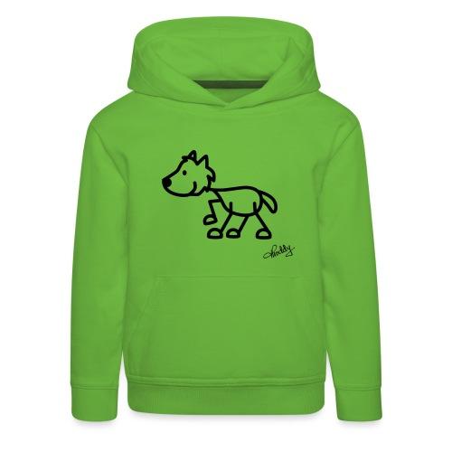 wolf - Kinder Premium Hoodie