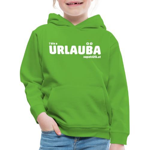 SUPATRÜFÖ URLAUBA - Kinder Premium Hoodie